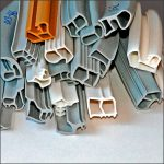 Stahlzargenprofile, Moosgummidichtungen, Hohlkammerprofile