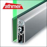 Schall-Ex GS-A. Türdichtung für Glastüren - Athmer